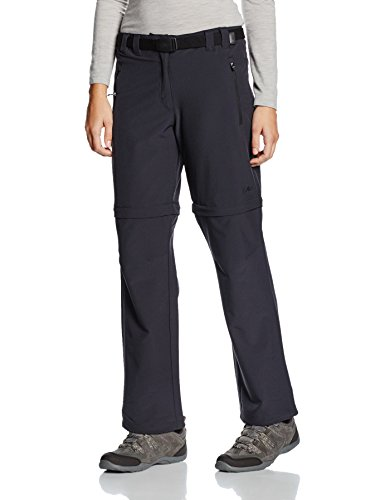 CMP Damen Zipp Off Hose, Antracite, 40
