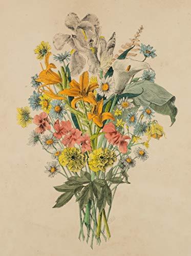 H. W. Fichter Kunsthandel: GIESS(19./20.Jh.), Farbenfroher Blumenstrauß,...