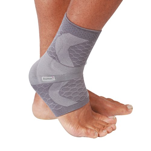 Human I MalleoTex XX Large - Right - Pull on ankle support recommended for ankle sprains, strains and other ankle injuries. by Human I