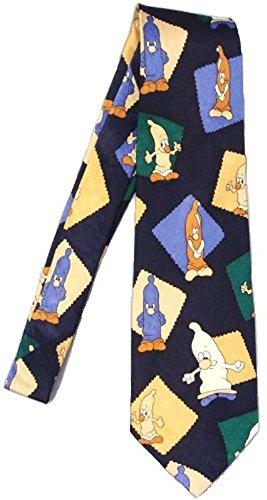 Elegance1234 cravate nouveau préservatif en 100% soie nouveauté cravate superbe de qualité