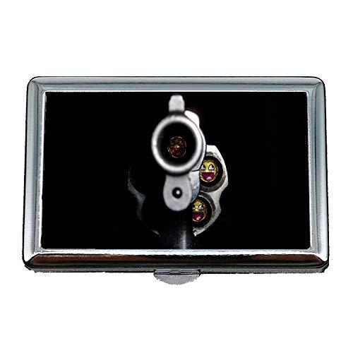 Zigaretten-Aufbewahrungsbehälter / -Kasten, Waffenständer, Zigarettenetui, Kugel, Visitenkartenetui Visitenkartenetui Edelstahl