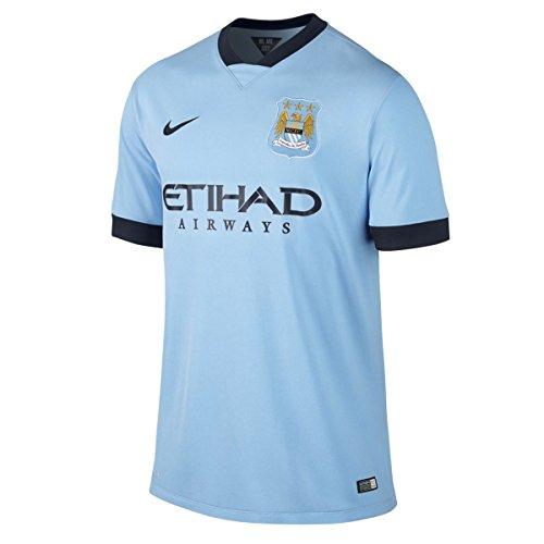 NIKE - Camiseta 1ª Equipación Manchester City FC 2014-2015, Talla M