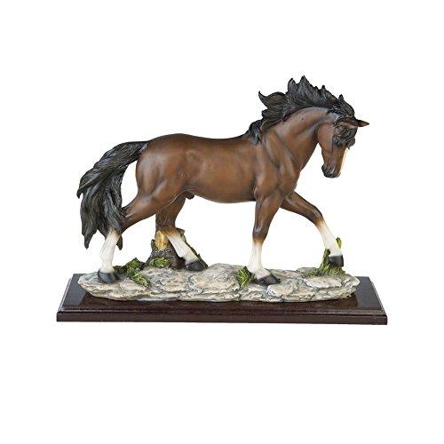 A.G.S. Pferd Pferdefigur Statue Western Bar Saloon Sammlerfigur Dekoration Horse