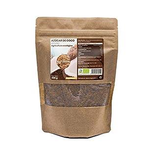 Azúcar de Coco Bio 400gr   Bio   Vegan   Sin Gluten   Endulzante Natural
