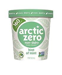 Arctic Zero Non-Dairy Desserts, Hint of Mint, 16 oz (Frozen)