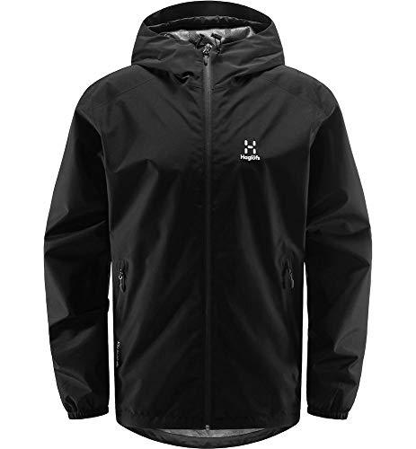 Haglöfs Hardshelljacke Herren Hardshelljacke Betula GTX Jacket Wasserdicht, Winddicht, Atmungsaktiv True Black L L