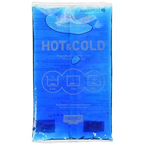 Dderma 52419 - GEL RIUTILIZZABILE IN BUSTA per terapia caldo/freddo, 14X24 Cm