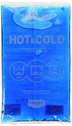 Dderma 52419 - Bolsa gel frio-calor, 140x240 mm