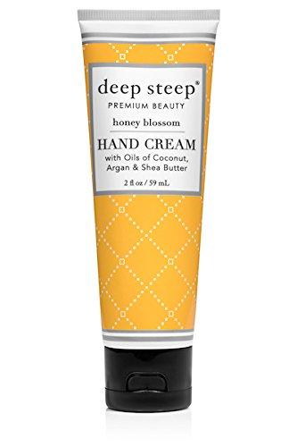 Deep Steep Crème pour les mains, 56,7 gram, fleurs de miel