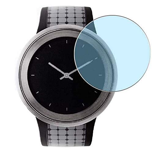 Vaxson 3 Stück Anti Blaulicht Schutzfolie, kompatibel mit SONY FES Watch U Smartwatch Hybrid Watch, Bildschirmschutzfolie TPU Folie Displayschutz [nicht Panzerglas Hülle Hülle ]
