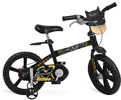 Bicicleta 14' Batman Bandeirante Preto