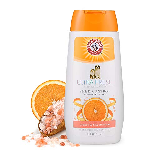 Arm & Hammer Ultra Fresh Shed Control Shampoo With Omega Fatty Acids & Protein