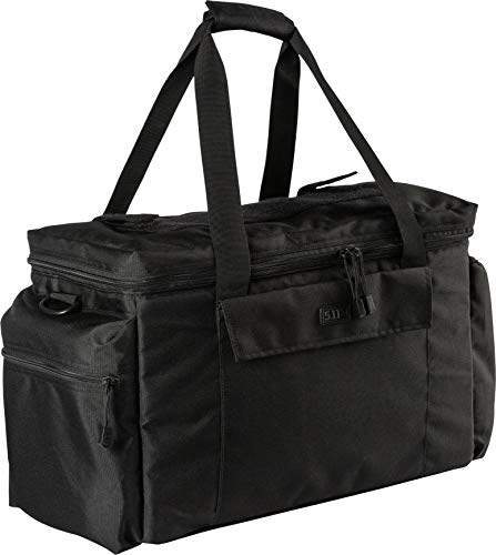 5.11 Tactical Basic Patrol Bag 37 Liters, Adjustable/Removable Shoulder Strap, Style 56523, Black
