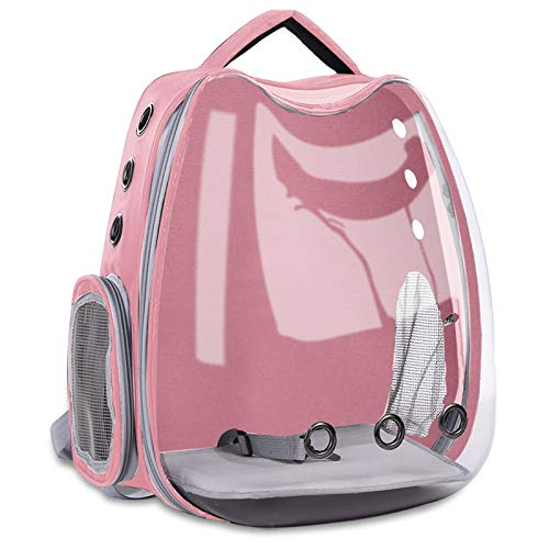 ASHLEYRIVER Cat Backpack Carriers,Space Capsule Pet Backpack for Small Dog, Traveling, Camping and Hiking Outdoor