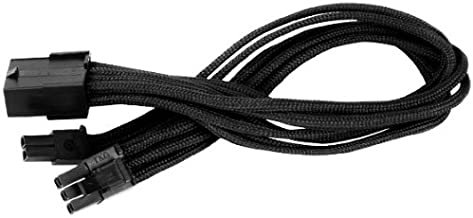 Silverstone Tek Sleeved Extension Power Supply Cable with 1 x 8-Pin to PCI-E 8-Pin Connector (PP07-PCIB)