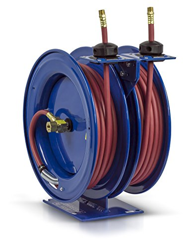 Coxreels C-LP-350-350 Dual Air Hose Reel, 3/8