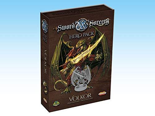 Ares Games Sword And Sorcery: Volkor Hero Pack