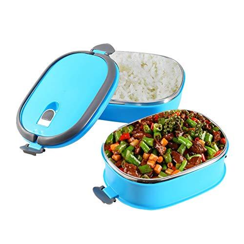 Isolatie thermische lunchbox roestvrij staal voedsel opslag container draagbare Bento doos met handvat 1/2/3 lagen