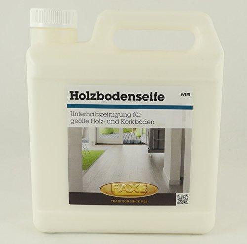 Faxe Holzbodenseife 2,5L weiß Fußboden Reiniger Holzboden Holz Kork