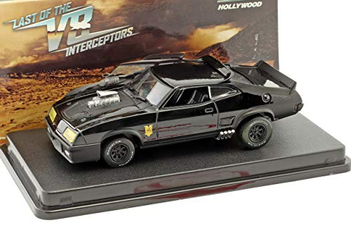 Greenlight Ford Falcon XB Baujahr 1973 Film Last of The V8 Interceptors (1979) schwarz 1:43