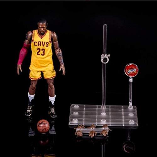 Figura de acción de 22 cm de la Serie NBA Lebron James 23 Los Angeles Lakers edición Limitada de colección: Figuras de la NBA
