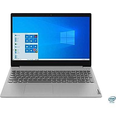 Lenovo – IdeaPad 3 15″ Laptop – Intel Core i3-1005G1-8GB Memory – 256GB SSD – Platinum Grey – 81WE011UUS (Renewed)