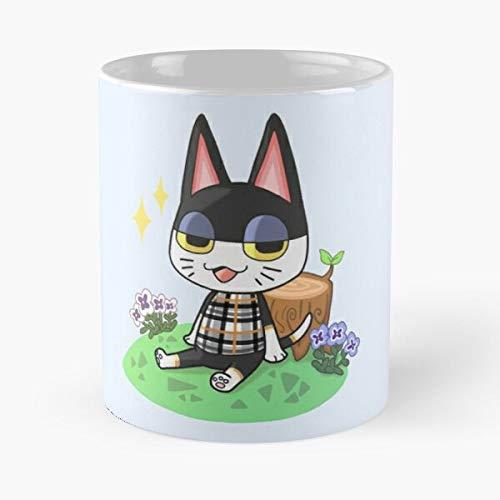 Awesomdeals Crossing Horizons Acnl Acnh New Leaf Animal Ac Punchy Best 11 oz Kaffeebecher - Nespresso Tassen Kaffee Motive