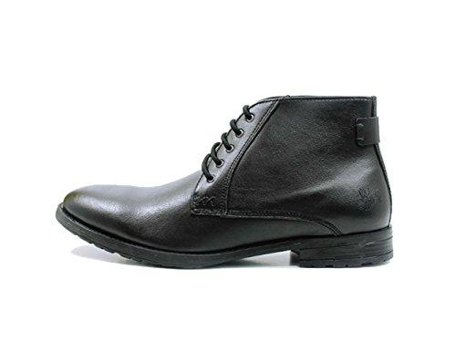will's Mens The Chukka Vegan Boot (8, Black)