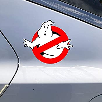 YttBuy Ghostbusters Logo Vinyl Car Sticker Decal Movie Pop Culture Stickers Laptop Stickers  9X7.8 Inch,Set of 2