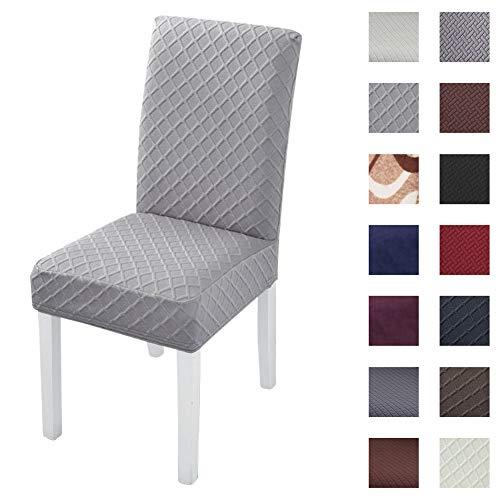 Padgene - Fundas para sillas universales, elásticas, Lavables, Suaves, para hoteles, Fiestas, Banquetes