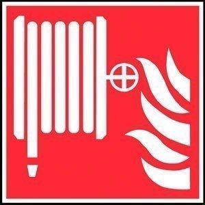 PVC-Aufkleber Brandschutzkennung BGV A8