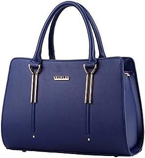 Fashion Women Shoulder Bag Sweet PU Leather Zipper Casual Handbag