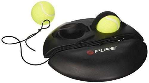 Pure2Improve P2I100180 Entrenador de Tenis, Unisex-Adult, Negro, Talla única
