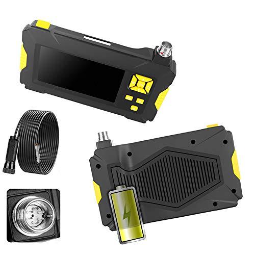 VOMI Endoscopio Industrial, Cámara De Inspección HD 1080P con Pantalla LCD De...