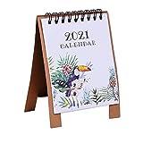 Sayletre Calendario de Papel, Programador Diario Doble, planificador de Mesa,...