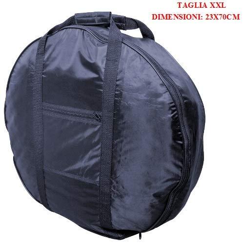 Compatibel met Citroen reservewiel met ritssluiting en handgrepen maat XXL 23 x 70 cm veiligheidswiel cm voor garage waterdicht