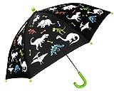 Fringoo - Boys & Girls Umbrellas - Children's Umbrella - Colour Changing Umbrella - Kids Safe - One Size (Dinosaur Bones)