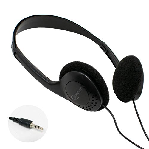 USB 3.0 3,5 mm Stereo Headset Hoofdtelefoon met Microfoon Mic voor Thuis, Werk, Kantoor, School, Gaming, Chat, MSN, Skype, PC, Desktop Computer, Laptop, PS3, PS4, iPod, iPhone, iPad, Galaxy Tablets, MP3 & MP4 Player | by iChoose® 3.5mm / MHP-123 IC-MHP-123-NL