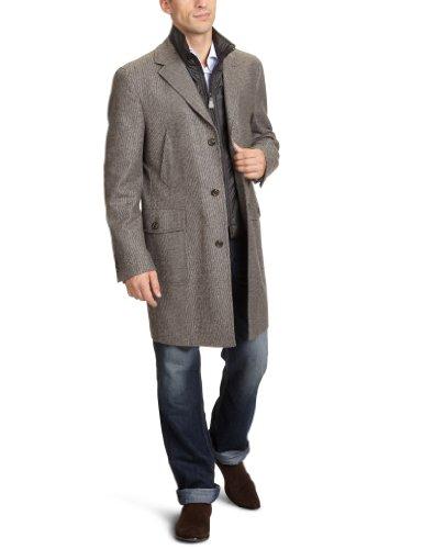 Tommy Hilfiger Tailored Herren Kurzmantel Regular Fit 1200060 / Ewan, Gr. 98 , Beige (419)