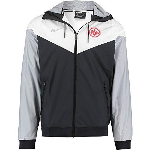 Nike Herren SGE M NSW WR WVN AUT X Sport Jacket, Black/White/Wolf Grey, S