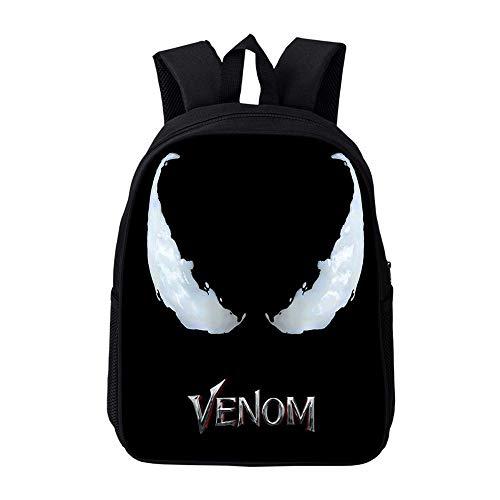 RLJqwad Marvel Rugzakken Venom Rugzakken, Laptoptassen, Outdoor Reistassen Primaire School Rugzakken Kinderen Rugzakken
