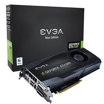 EVGA GeForce GTX680 2GB GDDR5 DisplayPort DVI-I DVI-D HDMI Graphics Card for Mac 02G-P4-3682-KR