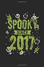 Spooky Since 2017: Graph Paper Notebook / Journal (6