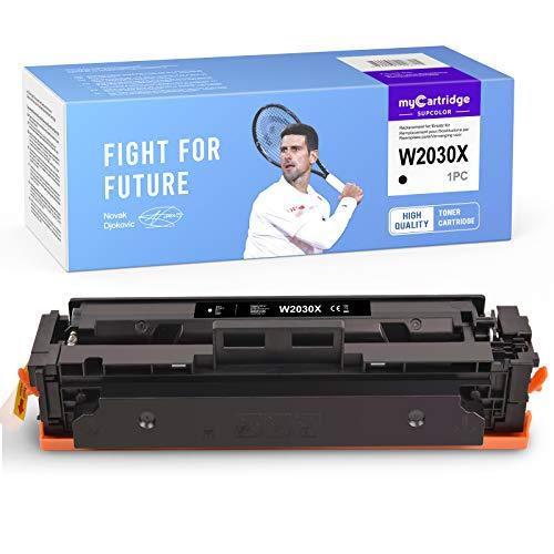 myCartridge SUPCOLOR 415X (sin Chip) Multipack reacondicionado y Compatible para HP 415X 415A W2030A W2030X para Color Laserjet Pro MFP M479FDW M479FDN M479DW M479FNW Color Laserjet M454DW M454DN