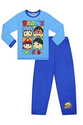 Ryan's World Pijama Largo de algodón para niños