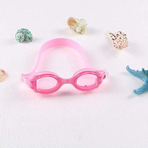 Gafas de natación para niños integradas, Impermeables y antiniebla, Gafas de natación