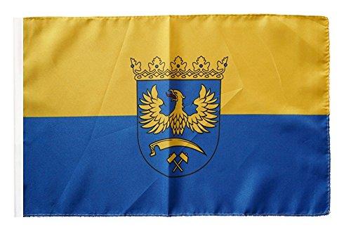 Flagge / Fahne Oberschlesien + gratis Sticker, Flaggenfritze®