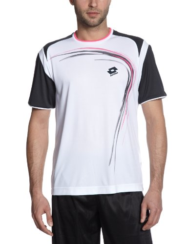 Lotto T-Shirt pour Homme Trail XXL Blanc/Lame