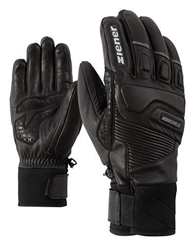Ziener Herren GISOR AS(R) ski Alpine Handschuhe, Black, 8