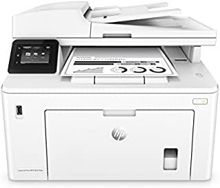HP LaserJet Pro M227fdw All-in-One Wireless Laser Printer, Amazon Dash replenishment ready (G3Q75A), White, Large